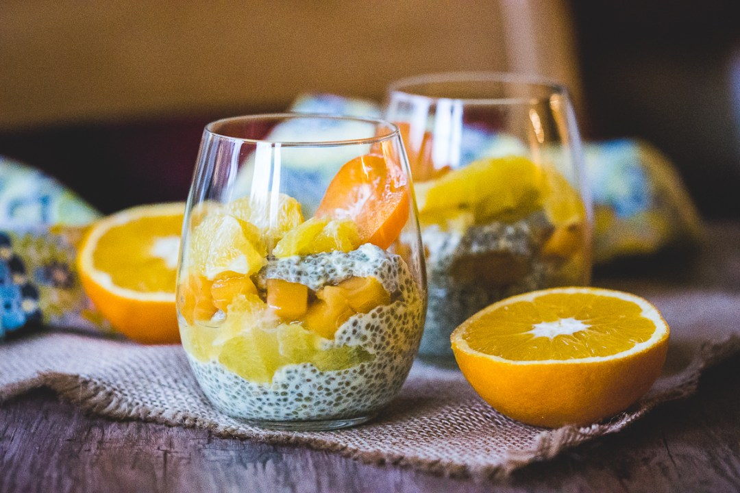 chiapudding med citrus