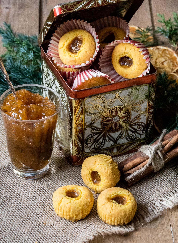 glutenfria saffransgrottor med hjortron