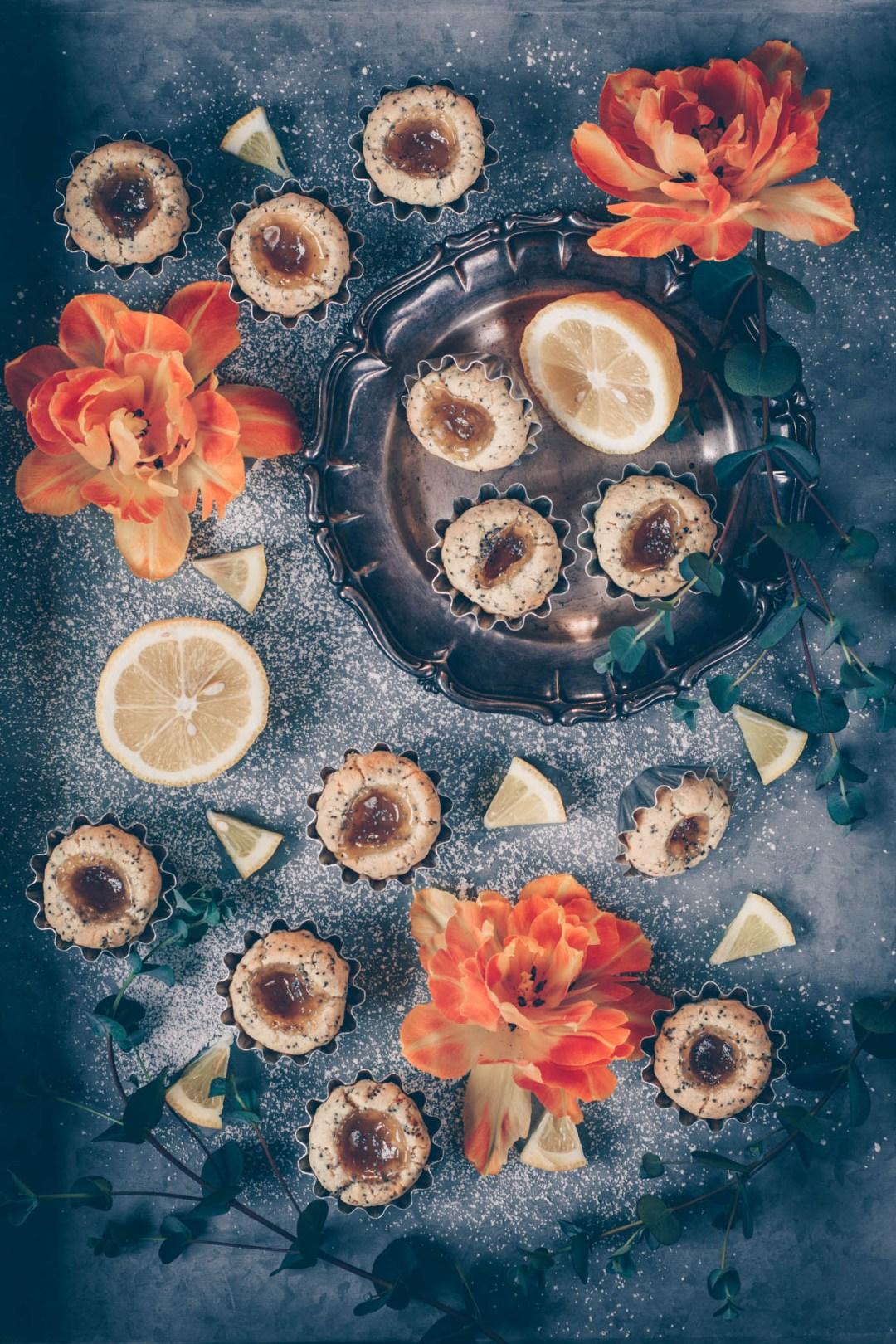 citrongrottor med vallmo