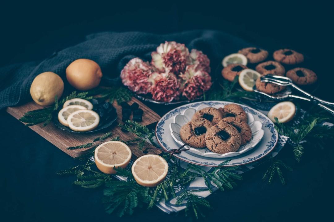 lakrits- och citronkakor haupt