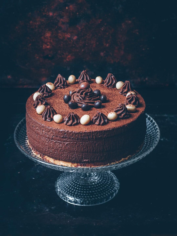 chokladens dag no bake chokladcheesecake