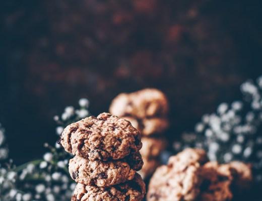 havrekakor med choklad och kardemumma