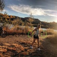 Hooping in Lake Pueblo State Park
