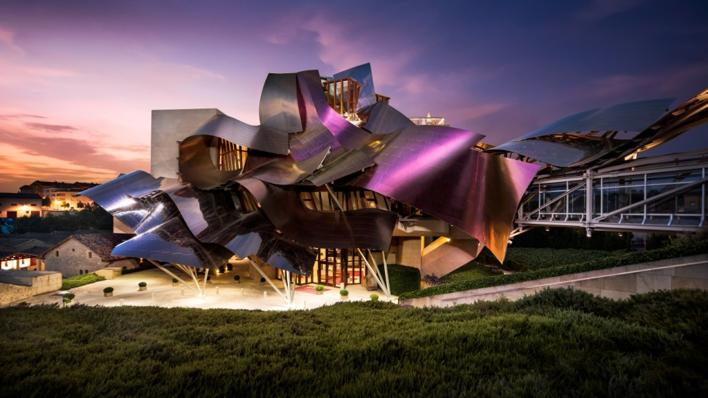 World's most unusual hotels: Hotel Marqués de Riscal