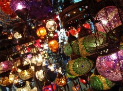 The Grand Bazaar is one of the largest covered markets in the world with more than 58 streets, over 1,200 shops, and more than 250,000 visitors daily. Products include handmade rugs, pottery, mosiac lanterns and much more.