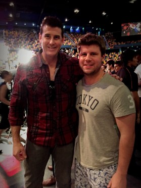 At 6ft 7, Ben Roberts Smith made my brother Michael look small.