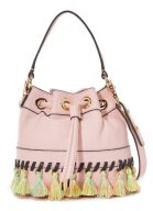 Milly Whipstitch Tassel Bucket Bag from Shopbop