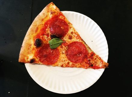 A real New York slice.