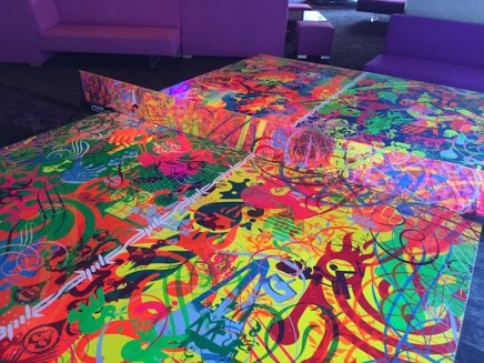Is this not the coolest ping pong table ever?