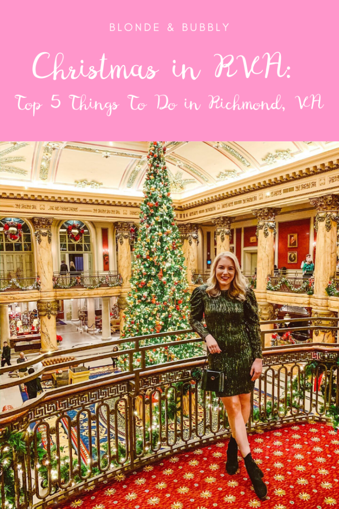 CHRISTMAS IN RVA: TOP 5 THINGS TO DO IN RICHMOND, VA