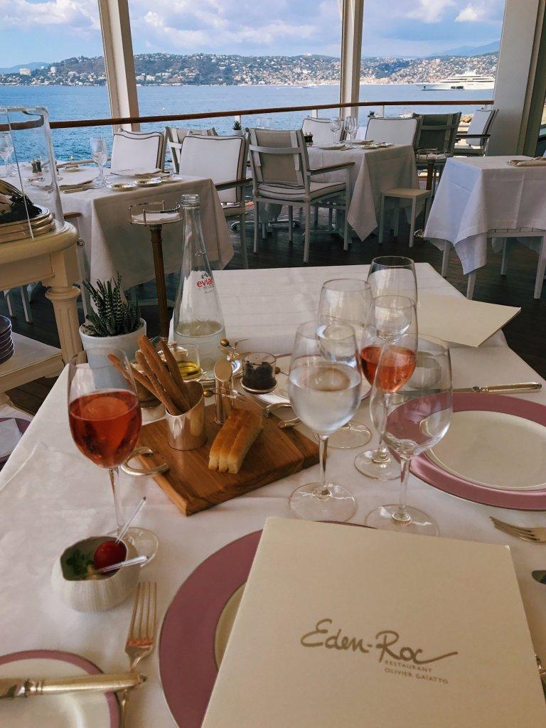 lunch at Eden-Roc Restaurant