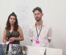 Miriam Katzeff and Matthew Walker of Primary Information