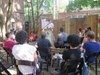 Ian Hatcher reading for Publication Studio Hudson