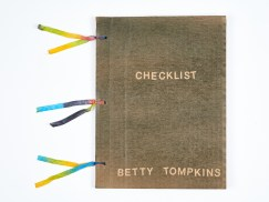 Betty Tompkins, Checklist, 2016