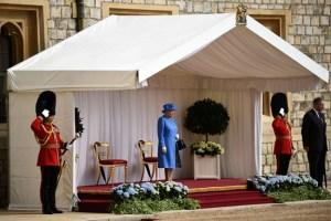 Королева ждет Трампа