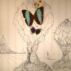 A Salvador Dali piece in Figueres, Spain