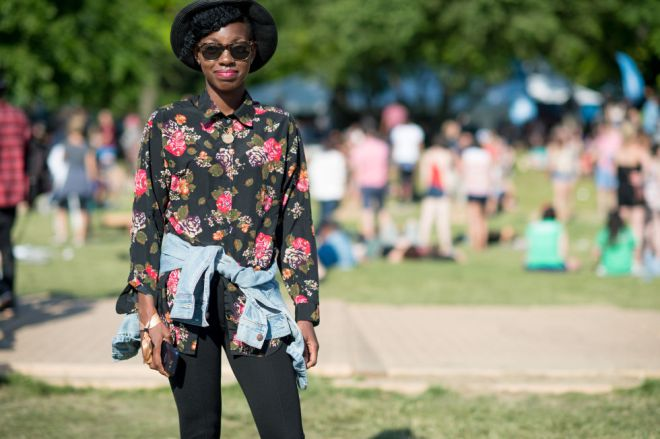 Governors Ball Music Festival 2015 - street style 9