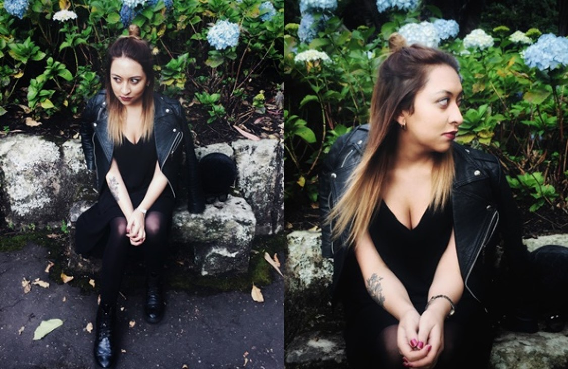 Danielastyling outfit post outfit bogota fashion total black - colombian blogger 11