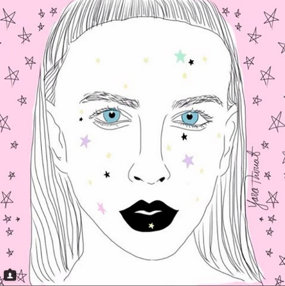 Yara thiriat - ilustracion de moda en colombia - fashion illustrator - danielastyling 2