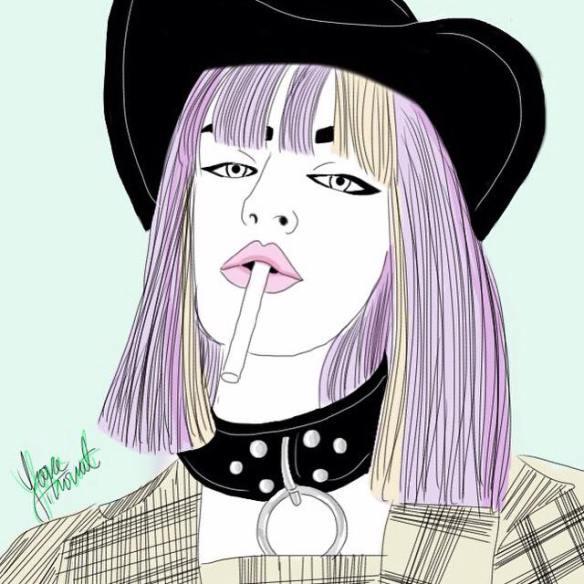 Yara thiriat - ilustracion de moda en colombia - fashion illustrator - danielastyling