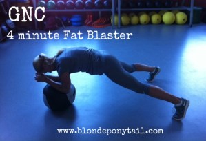 4 Minute Fat Blaster With GNC