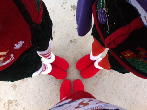 Ugly Sweater 5k_shoes_2