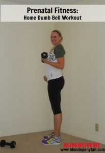 Prenatal Fitness at Home Workout with Dumbbells