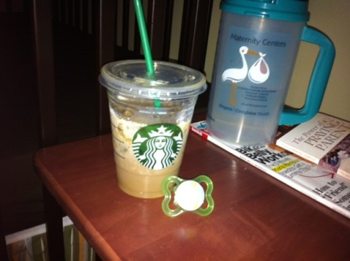 Starbucks iced latte