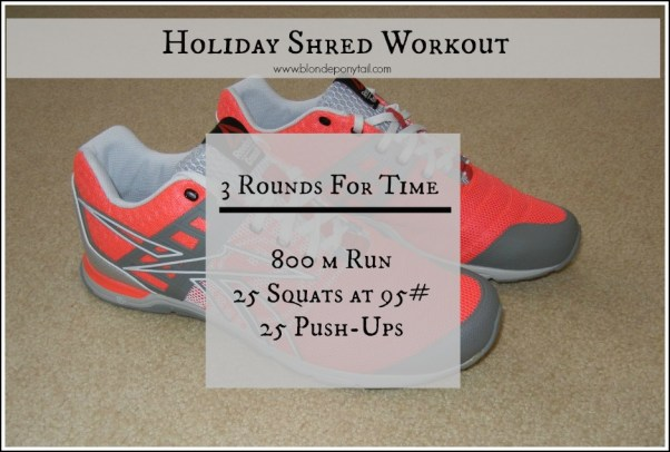 Holiday Shred Workout