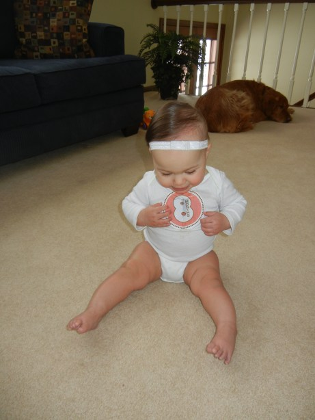 8 month old baby