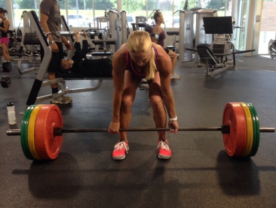 Dead lift PR CrossFit Girls