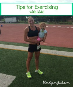 Tips for Exercising with Kids