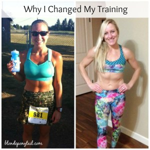 Why I Changed My Training