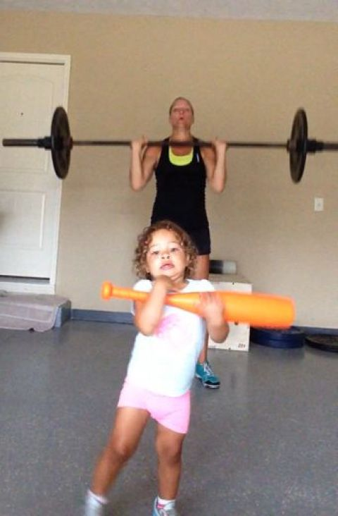 CrossFit Kids Push Press