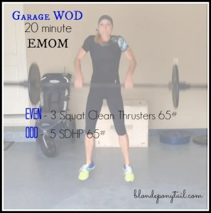 20 Minute EMOM Workout