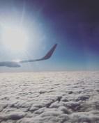Above beautiful Budapest