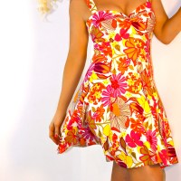 BlondiBeachwear: The Twist Front Sundress