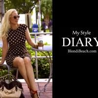 BLONDi Style Diary: Coffee and Polka Dots