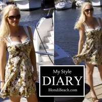 {BLONDi Style Diary} Go For a Boat Ride Every Day