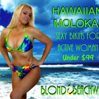 {Hawaiian Molokai} Sexy Swimwear For The Active Woman