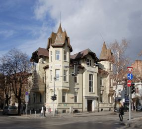 neo-gothic architecture in Sofia