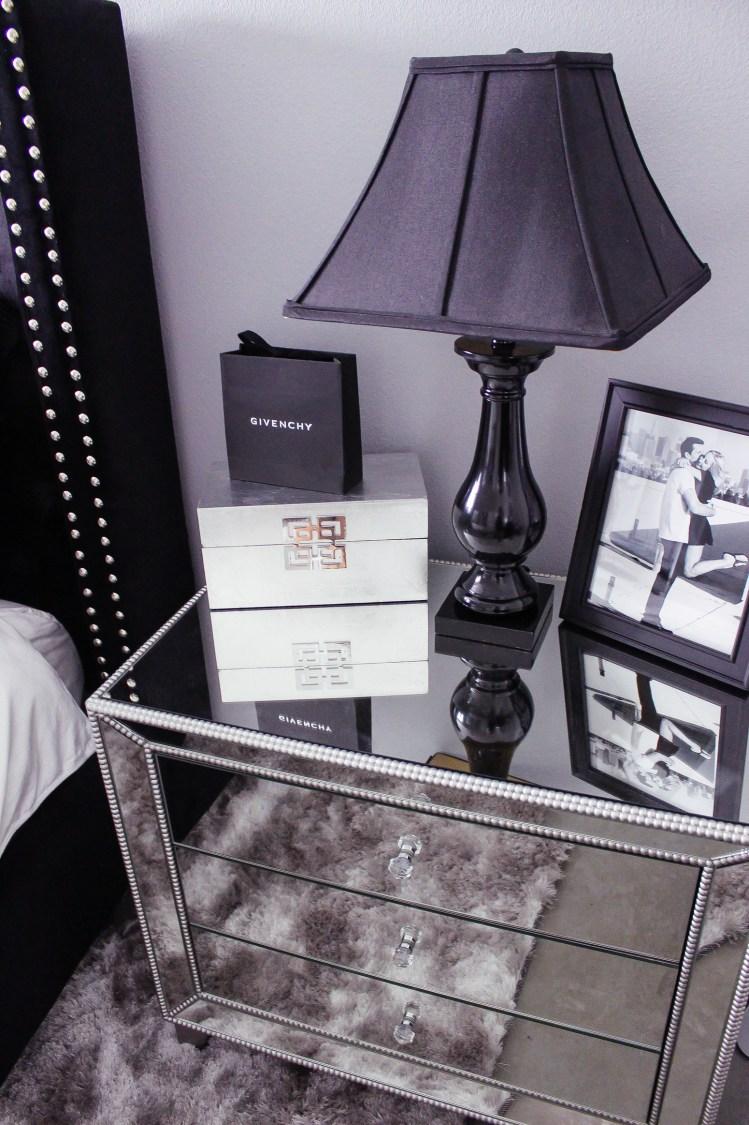 Black White Bedroom Decor Reveal