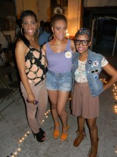 yours truly with 2 of my boo thangs!
