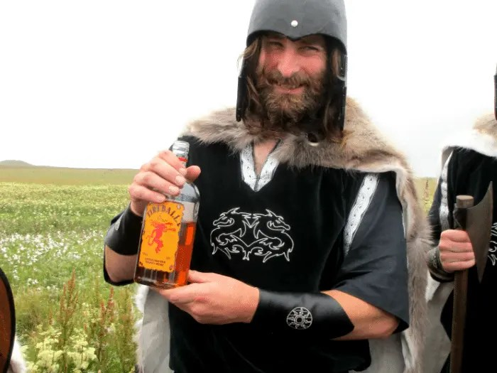 Become friends with this Viking prior to your flight!