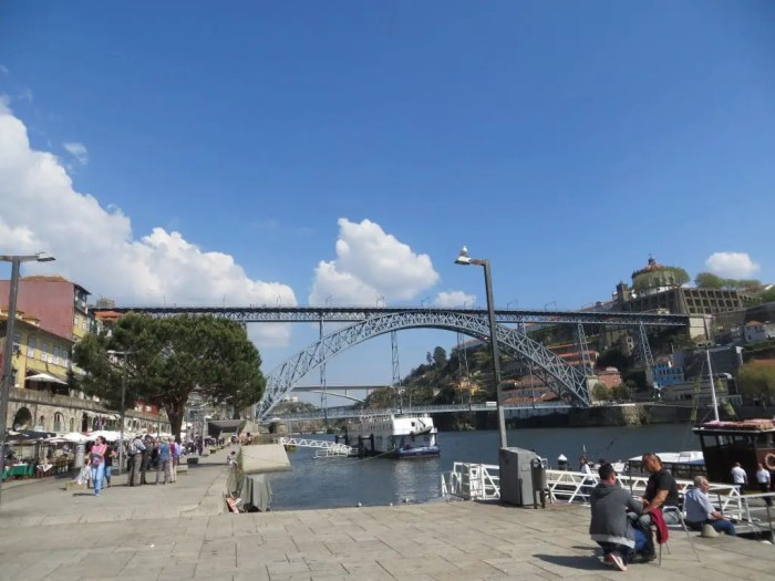 Luís I Bridge in Porto.