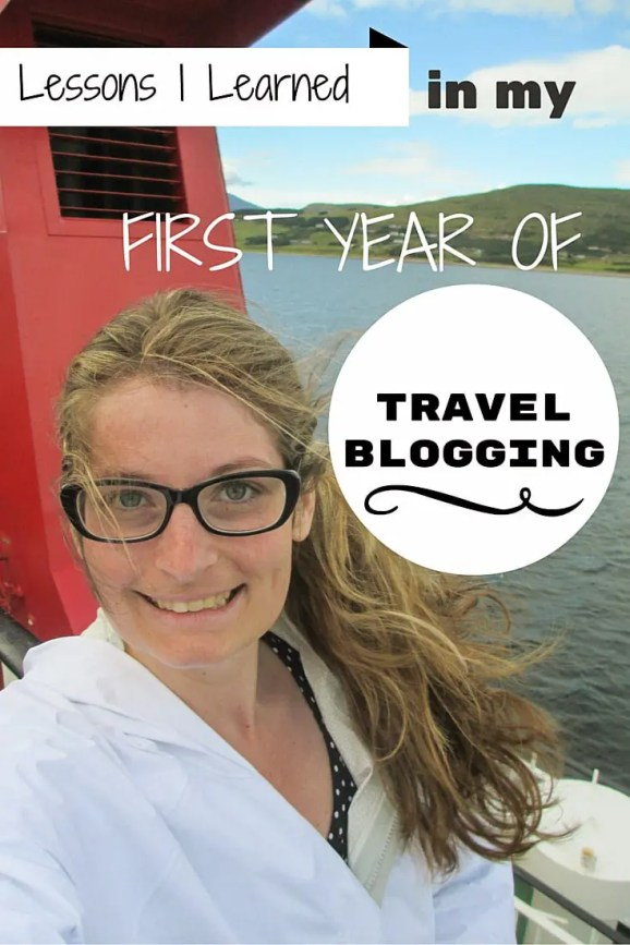 lessons i learned in my first year of blogging