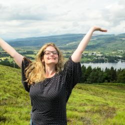 falling in love with the scottish highlands