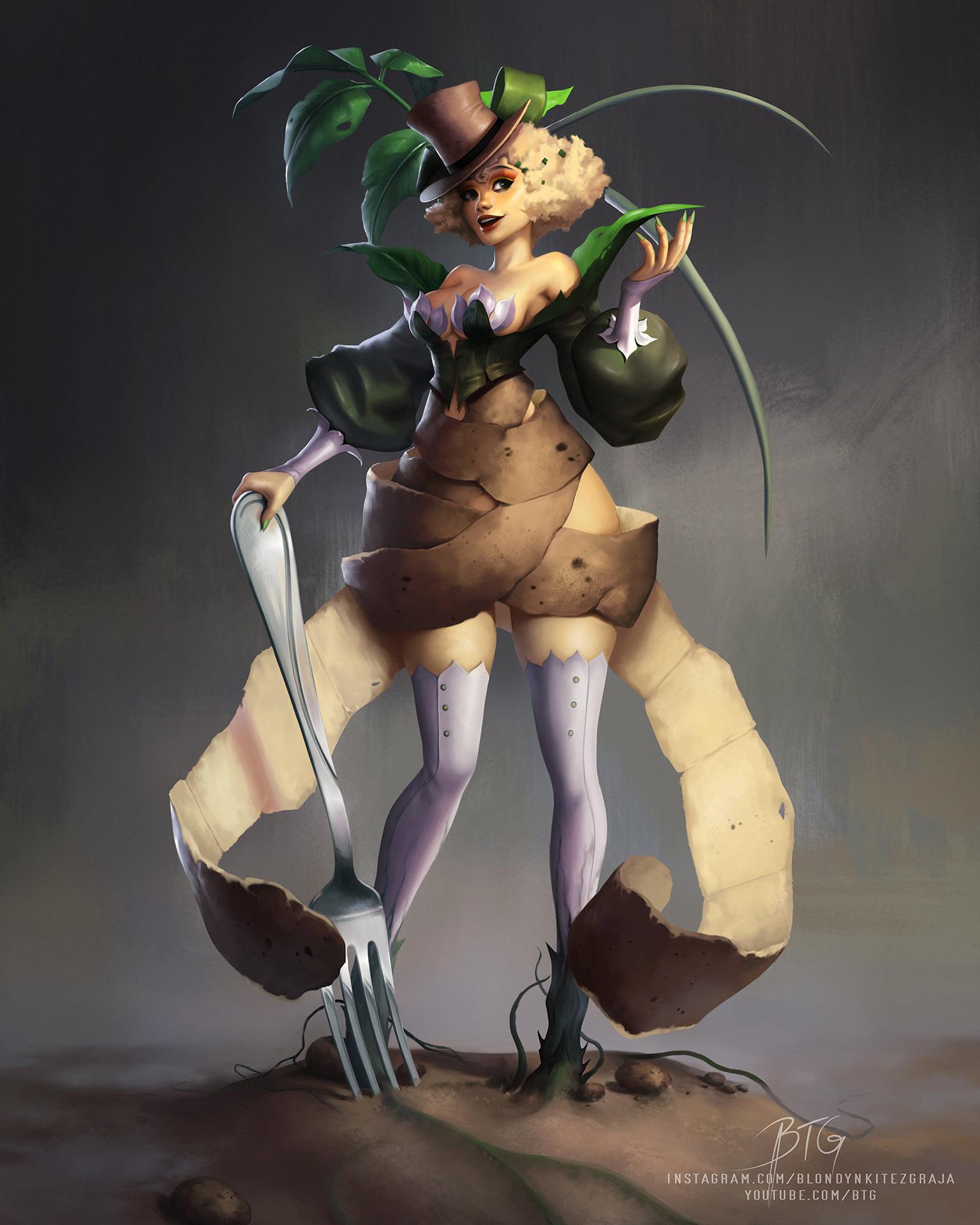 Potato Girl concept by Blondynki Też Grają ( BTG )