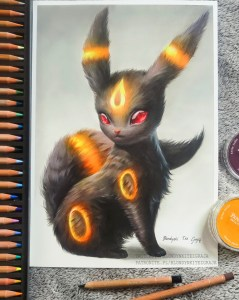 Umbreon realistic Pokemon