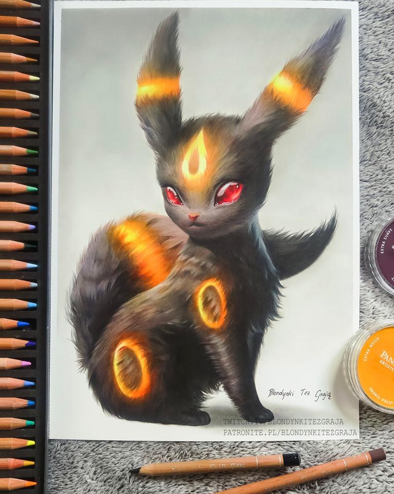 Umbreon realistic Pokemon